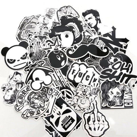 100 pieces DIY Sticker Bomb Decal / Stickers
