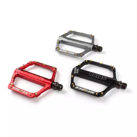 Ultra Smooth Lightweight Aluminum MTB Flat Pedals