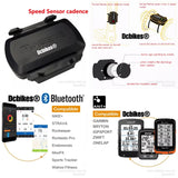 Speedometer Bluetooth 4.0 ANT+ Speed And Cadence Ip66 Dual Speed Sensor For GARMIN iGPSPORT Bryton Etc