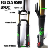Fox 34 Racing Shox 27.5 140mm Travel 650B Performance Float FIT4 Suspension Fork