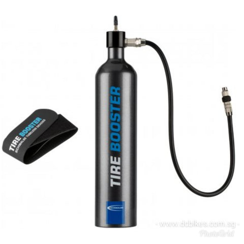 Schwalbe Tubeless Ready MTB Tyres Airshot Booster Super Inflator 160 PSI