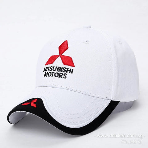 Mitsubishi Motors Evolution Race Day Signature Trucker Baseball Cap Hat