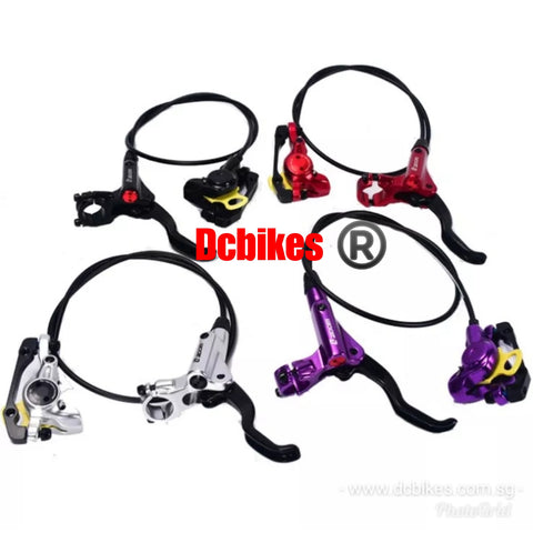 Zoom Anodized Bicycle MTB Escooter Hydraulic Brakeset