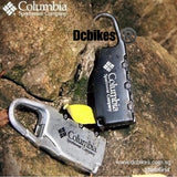 Columbia Sportswear Company 3 Digit Mini Zip Pouch Bag Number Lock