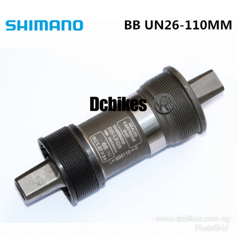 Shimano BB-UN26 73mm X 110/113 Square Taper Bottom Bracket English Thread BB
