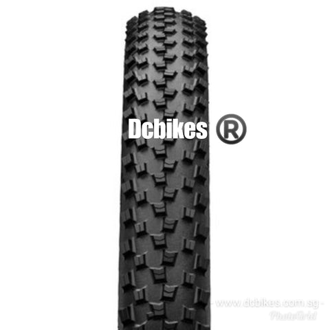 Continental 29 X 2.3 Cross King II MTB Tubeless Ready Folding Tyres (2 Tires)