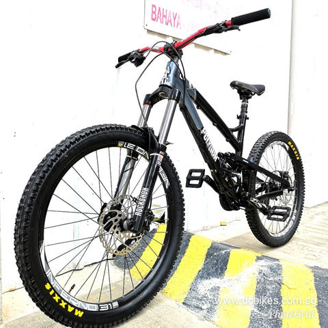 26er Polygon Collosus FR 1.0 Full Suspension Mountain Bike
