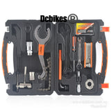 15 in 1 Multifunction Bike Mechanic Home Maintenance Bicycle Repair Tool Box Kit
