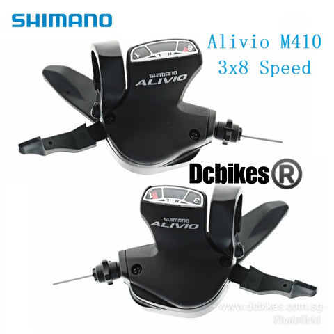 Shimano 8 X 3 Speed Alivio SL-M410 24 Speed Left + Right Shifters