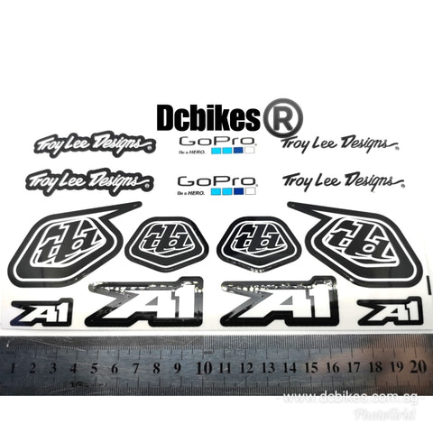 Troy Lee Designs X GoPro Hero TLD Limited Sponsor Race Decal