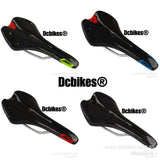 Carbon Fiber Print MTB Race Saddle Seat