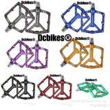 Anodized Lightweight Aluminum MTB Pedals