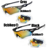 TR90 Polarized Cycling Sun Glasses Interchangeable Lens