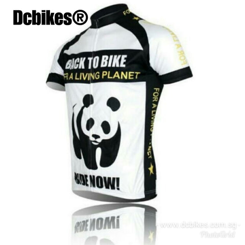 Panda Ride Now Road Cycling Jersey