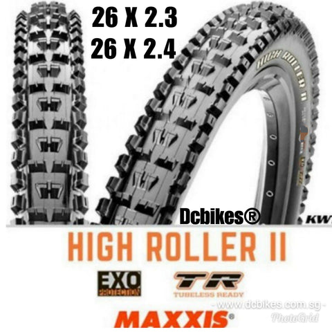 Maxxis 26'' High Roller II MTB Trail Folding Tyres ( 2 Tires )