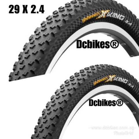 Continental 29 X 2.4 Trail King MTB Foldable Tyres (2 Tires)