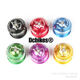 44mm Anodized Threadless Semi-Integrated Complete Headset 1-1/8 + Star Nut Top Cap