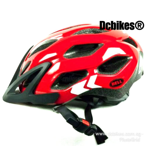 Bell Red Speed Indy Fade Protective Helmet