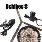 Shimano 10 Speed DEORE M6000 Shifter + Rear Derailleur + HG500 42T Cassette + 10s Chain Groupset