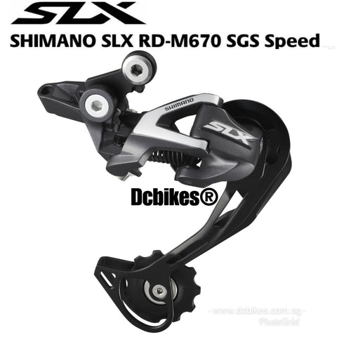Shimano SLX 10 Speed M670 Shadow MTB Rear Derailleur Mech