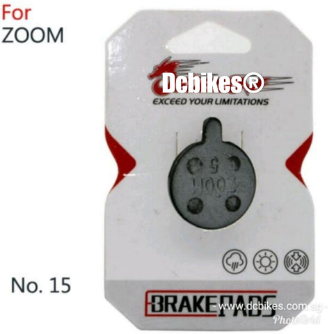 Zoom Bicycle Escooter Hydraulic Brakes Pads