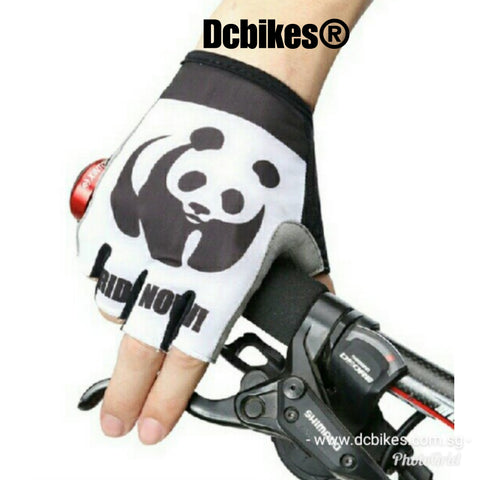 Panda MTB Road Half Finger Protective Gloves