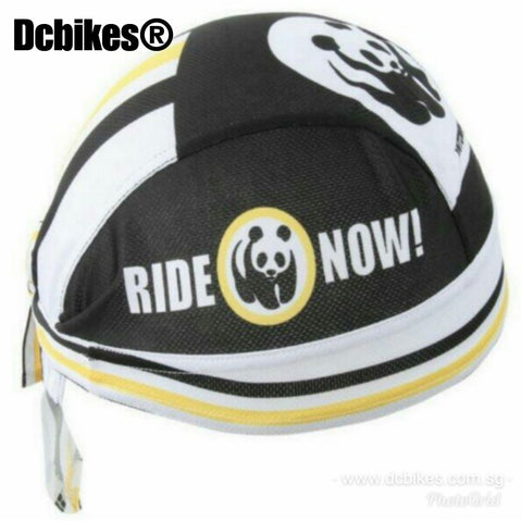 Panda Ride Now ! Head Band Scarf Cover