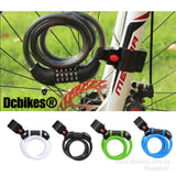 Anti Theft Bicycle Escooter 5 Number Lock