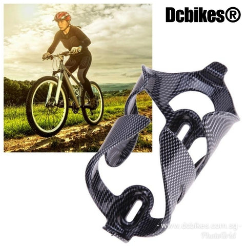 Carbon Fiber Cubic Printing Waterbottle Cage