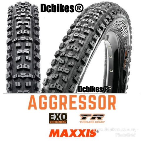 Maxxis 27.5/29 X 2.3 Aggressor EXO Tubeless Ready 650B MTB Folding Tyre