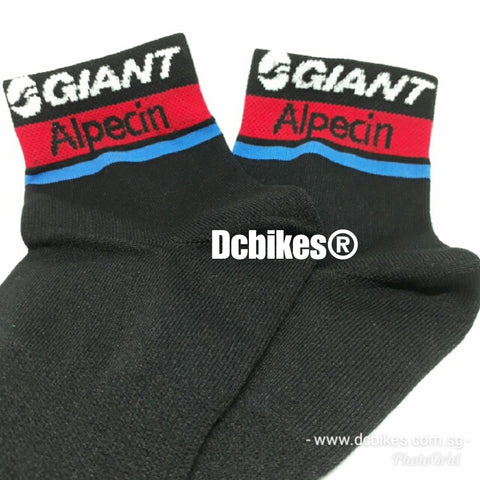 Giant X Alpecin MTB Road Black Socks