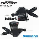 Shimano 3 X 9 Speed Deore SL M590 Speed Shifters Set