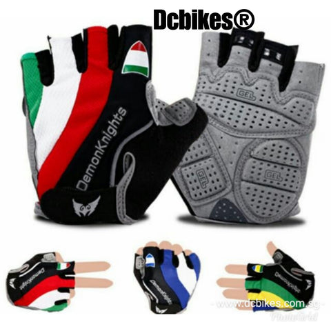 D. Knight Half Finger MTB Road Protective Gel Gloves