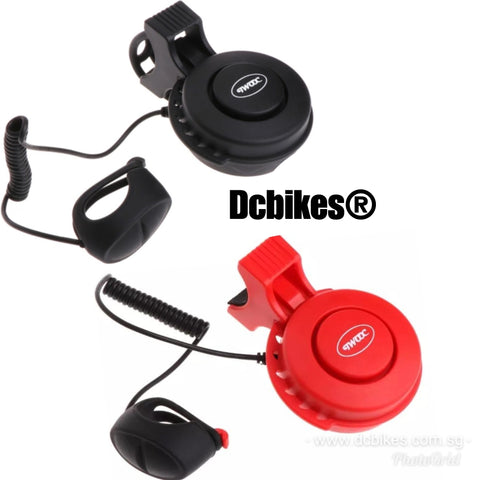 Rechargeable Electric Horn Bell 3 Interchangeable Loud Sirens
