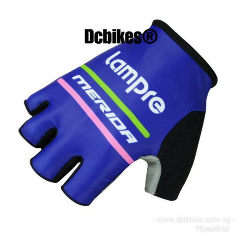 Merida Lampre MTB Road Half Finger Protective Gloves