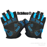 Men's/Women's Suede Anti Slip Gel Half Finger Gloves