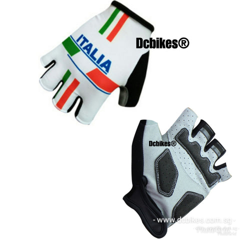 Italia MTB Road Half Finger Protective Gloves
