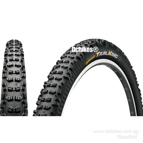 Continental 29 X 2.2 Trail King PureGrip Tubeless Ready Folding Tyres (2 Tires)