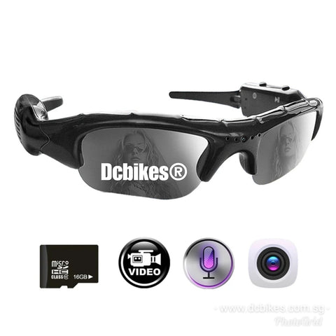 2 in 1 Rechargeable Digital Video Recorder Sunglasses Camcorder Eyewear