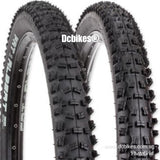 Schwalbe 27.5 X 2.35 Fat Albert Evolution TrailStar / PaceStar Tubeless Ready 650B Folding MTB Tyres ( 2 Tires )