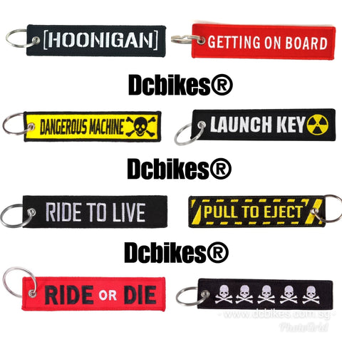 Dcbikes® Various Racing Key Chain