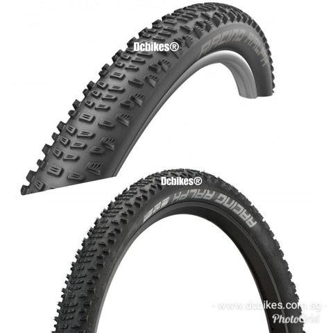 Schwalbe 29 X 2.25 Racing Ralph Addix Tubeless Ready MTB Folding Tyres (2 Tires)