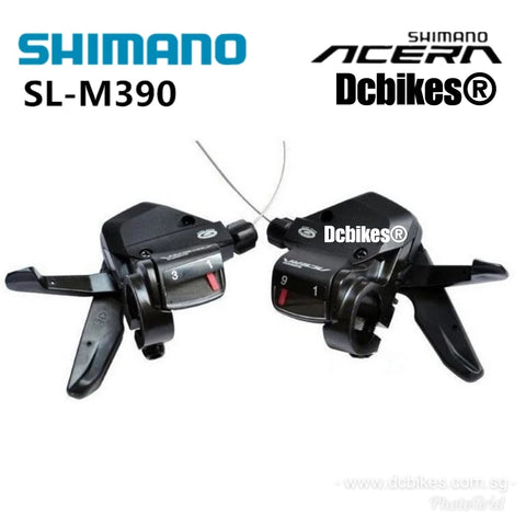 Shimano Altus 3 X 9 Speed Shifter Trigger Set SL-M390