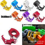 Universal Anodized 22mm Clamp MTB Escooter Motorcycle Handlebar Hook Hanger