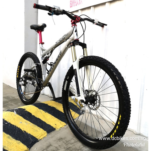 26er Specialized XC Comp Full Suspension Mountain Bike