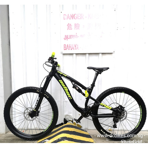 Author 27.5 AG Lab 650B Patriot Evo Full Air Suspension Mountain Bike