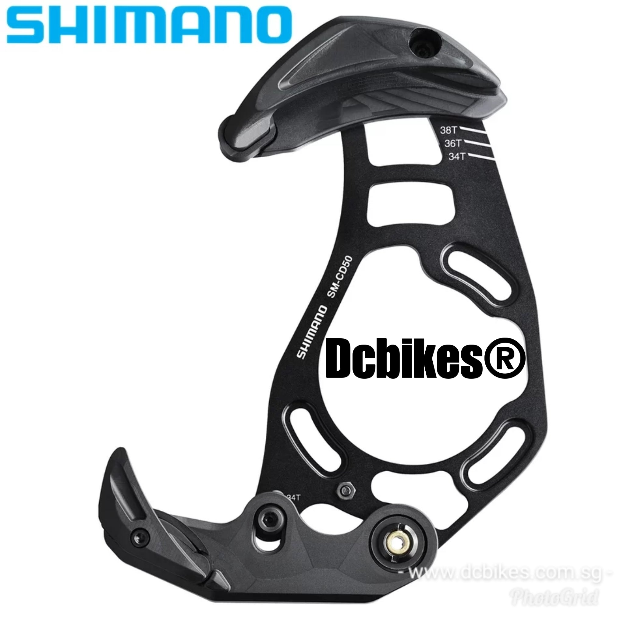 ISCG05 Shimano SM-CD50 MTB//Bike Saint Chain Guard And Guide Set 38T