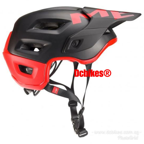 MET Black/Red Roam MTB Protective Trail Helmet