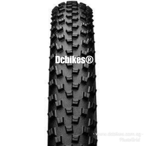 Continental 29 X 2.2 Cross King MTB Pure Grip Tubeless Ready Folding Tyres (2 Tires)