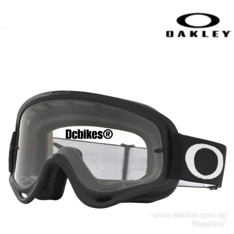 Oakley O MX MTB Downhill Matte Black Racing Goggle